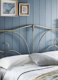 Gladstone Headboard 4'6 Double BRONZE