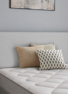 Newark Headboard 4'6 Double SILVER