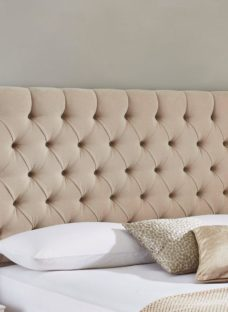 Harrogate Headboard 6'0 Super king CREAM