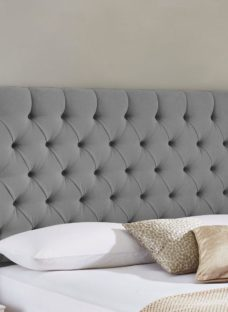 Harrogate Headboard 4'6 Double GREY