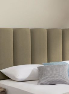 Gransmore Headboard 4'6 Double GREY