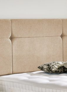 Hebden Headboard 4'6 Double CREAM