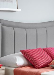 Alabama Headboard 4'0 Small double GREY