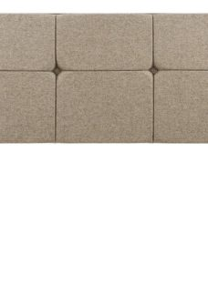 Silentnight Dahlia K H/B Sandstone (STD Fabric) 5'0 King BEIGE