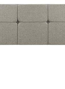 Silentnight Dahlia D H/B Marl Grey (Enhanced Fabric) 4'6 Double
