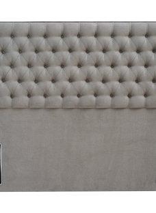 Eleanor Headboard 4'6 Double GREY