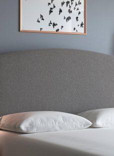 Verona S Strutted H/B Tweed Grey 3'0 Single