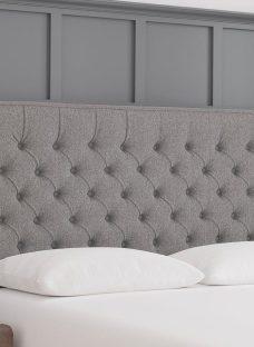 Bracken S Strutted H/B Tweed Grey 3'0 Single
