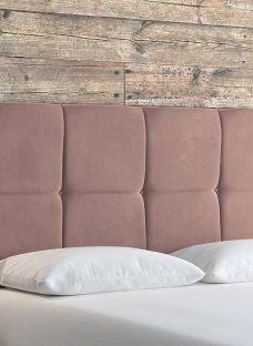 Lulworth SK Strutted H/B Plush Pink 6'0 Super king