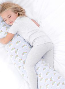 Kally Kids Pillow (Kids) - Over the Rainbow WHITE