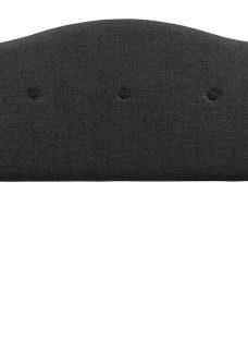 Silentnight Bluebell SK H/B Charcoal (STD Fabric) 6'0 Super king BLACK