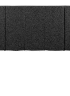 Silentnight Gerdinia SK H/B Charcoal (STD Fabric) 6'0 Super king BLACK