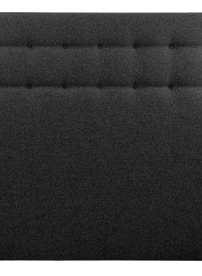 Silentnight Marigold SK H/B Charcoal (STD Fabric) 6'0 Super king BLACK