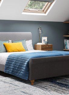Marley S Bed Grey 3'0 Single