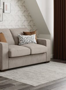 Odessa 3 Seater Sofa Bed Deluxe - Grey 3 Seater