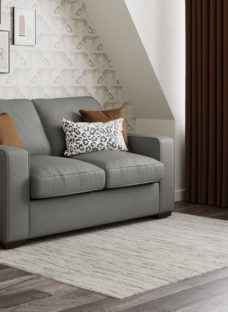Odessa 2 Seater Sofa Bed Deluxe - Grey Texture 2 Seater