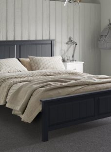 Woodbridge K Bed Charcoal (Sprung) 5'0 King GREY