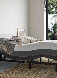 Sleepmotion 200i D Adjustable Bed Frame 4'6 Double GREY