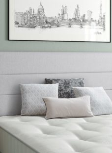 Stamford SD Headboard V3 4'0 Small double SILVER