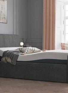 Lucia Sleepmotion 100i Adjustable Upholstered Bed Frame 3'0 Single SILVER