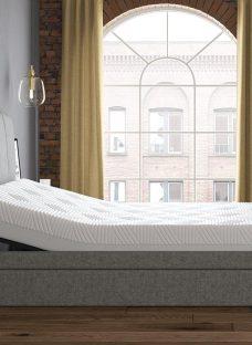 Seoul Sleepmotion 100i Adjustable TV Bed Frame 4'6 Double GREY