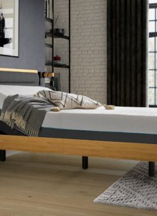 Hastings Sleepmotion 200i Adjustable Wooden Bed Frame 5'0 King BROWN