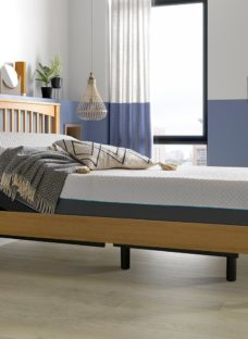 Fleetwood Sleepmotion 100i Adjustable Wooden Bed Frame 5'0 King BROWN
