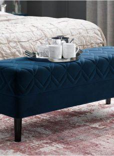 Neva Blue Bench