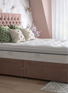 Sleepeezee K P/T 2+2 Drw Base Plush Pink 5'0 King
