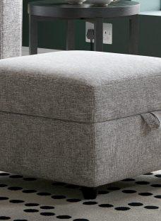 Haze Footstool - Grey