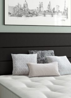 Stamford Headboard 4'0 Small double BLACK