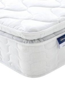 Silentnight Chesham Miracoil Eco Pillowtop Mattress 6'0 Super king