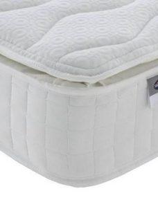 Silentnight Portchester 800 Pocket Eco Pillowtop Mattress 3'0 Single