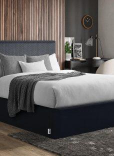 TEMPUR Reign Bed Frame 4'6 Double BLUE